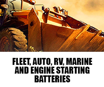 FLEET, AUTO, RV, MARINE POWER, ENGINE STARTING BATTERY DIVISION